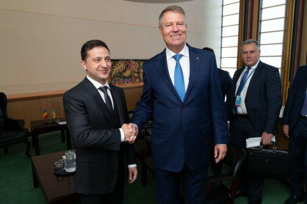 Зеленський зустрівся з президентом Румунії