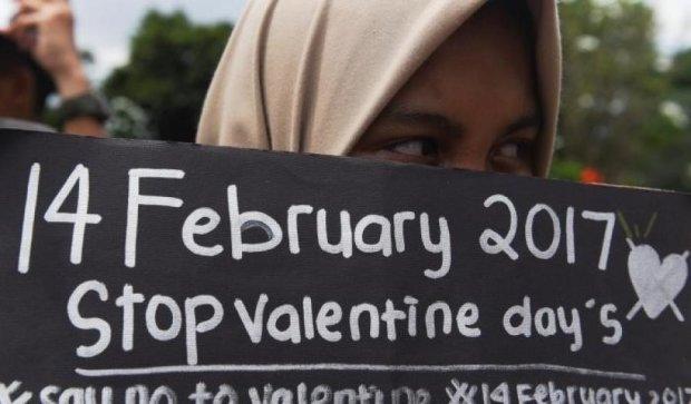 В яких країнах заборонили День святого Валентина