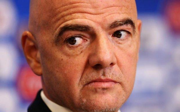 Президент ФІФА може бути відсторонений через зв'язок з другом Путіна