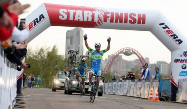 Украинский велогонщик второй раз победил в Москве