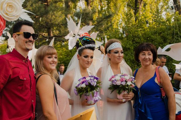 В Україні вперше уклали одностатевий шлюб (відео)