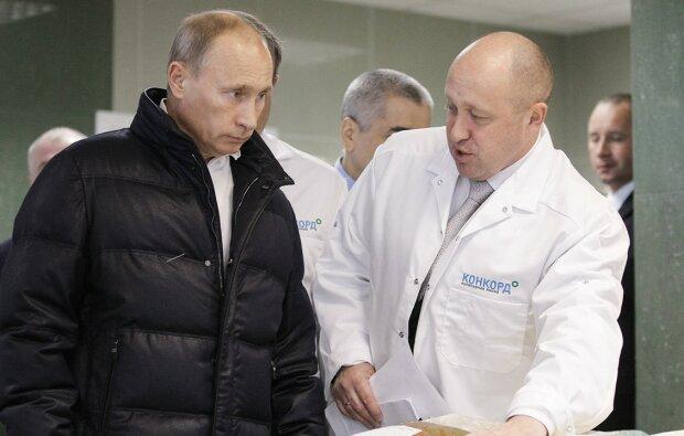 Путін з кухарем Пригожиним