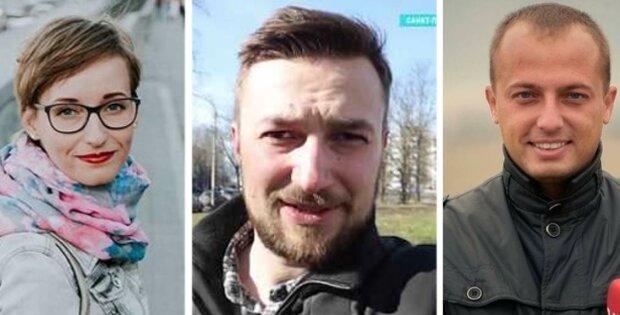 справа наліво: Ірина Ромалійська, Іван Гребенюк, Юрій Боронюк