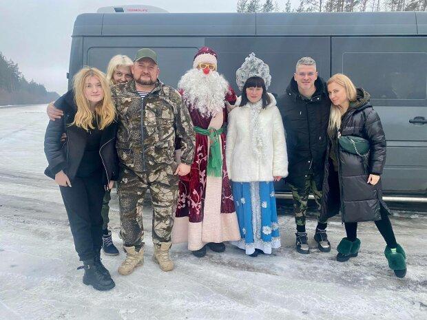 Салат для солдат, Тоня Матвієнко і Арсен Мірзоян - фото з Фейсбук