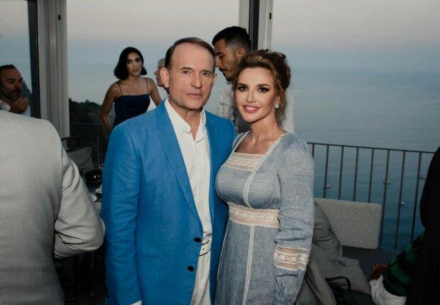 Виктор Медведчук и Оксана Марченко, фото: 112