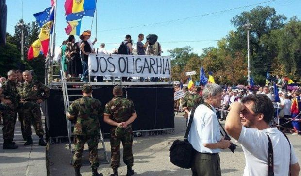 У Молдові знизили ціни на світло, газ і хліб, щоб заспокоїти мітингувальників