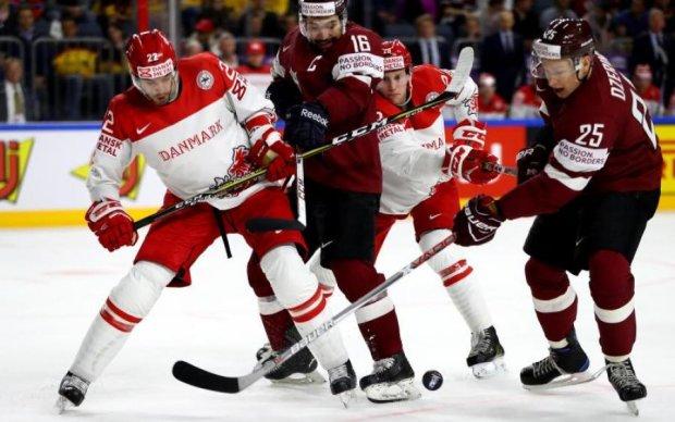 ЧС-2017 з хокею: Латвія громить Данію, Швейцарія вириває перемогу у Словенії