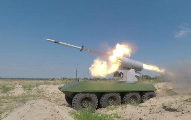 Укроборонпром показав випробування новітніх ракет
