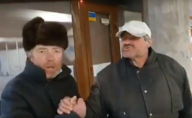 бездомный, скриншот из видео