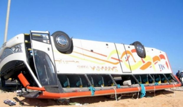 В Египте перевернулся автобус с украинскими туристами