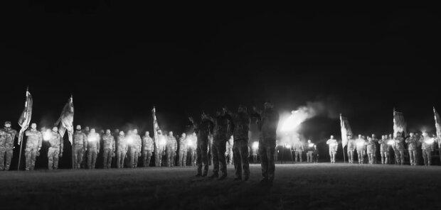церемонія в Урзуфі на честь полеглих бійців