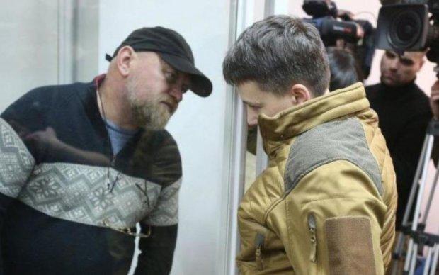 """Савченко и ее """"генерал"""" отказались давать показания"""