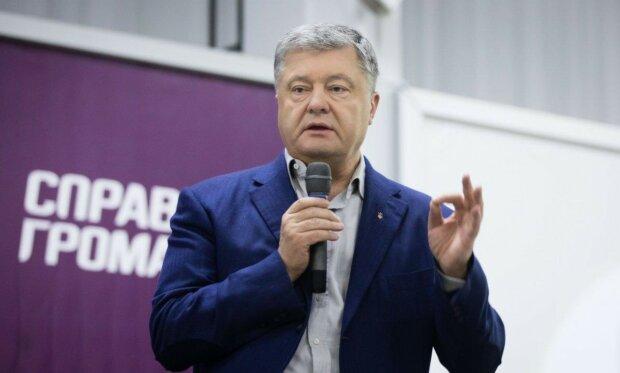 Порошенко двічі порушив ПДР в центрі Києва: з'явилося відео