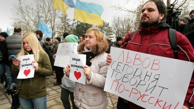 """Во Львове резко """"запахло"""" Путиным на седьмом году войны"""