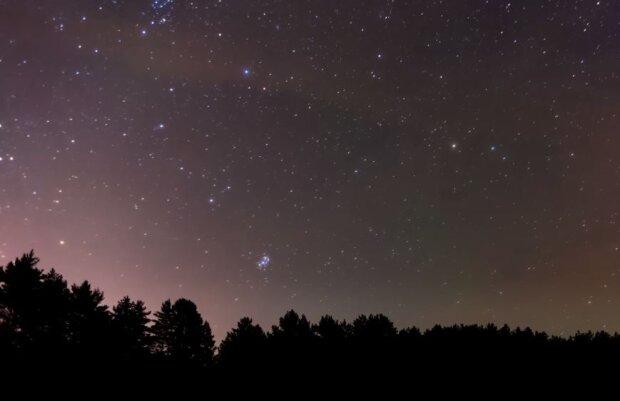 Звездное небо, скриншот: YouTube