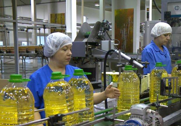 Ціни на олію, кадр з відео