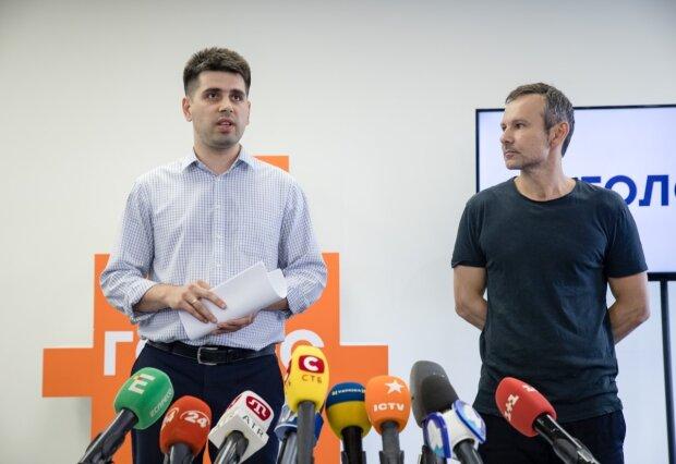 """Святослав Вакарчук, лидер партии """"Голос"""""""