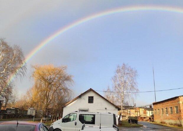 Зимняя радуга на Львовщине: Варто — Галицькі новини