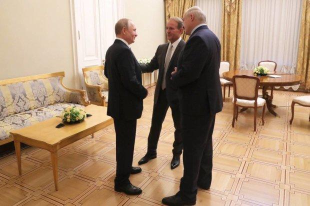 Путин поблагодарил Медведчука за усилия по установлению мира в Украине и по освобождению пленных