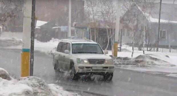 Шквальний вітер та дощ зі снігом - зима поставить люту крапку у Франківську 28 лютого