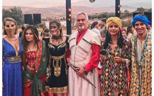 У пустелі на верблюдах: як пройшло весілля доньки Меладзе