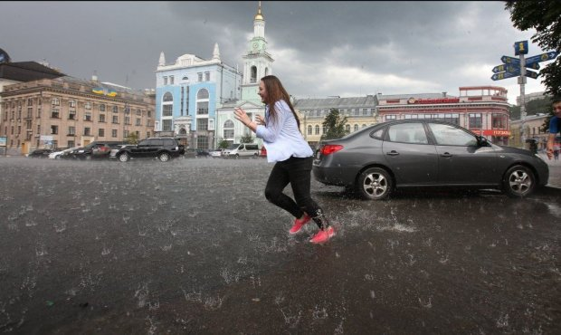 Дощ у Києві