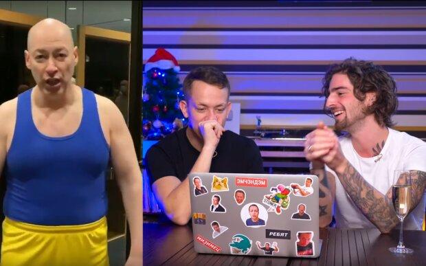Дантес повеселився з Дурнєвим, згадавши Гордона, скрін з відео
