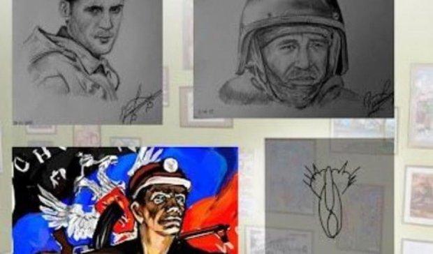 Рисунок Путина увидели душевнобольные (фото)