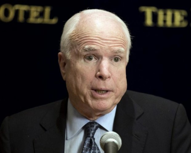 Сенатора Маккейна Росія занесла до чорного списку