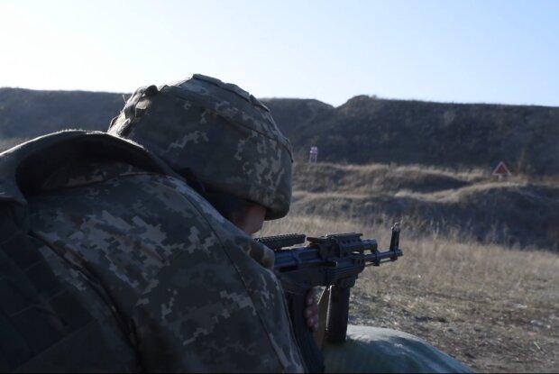 український воїн, скрін з відео ООС