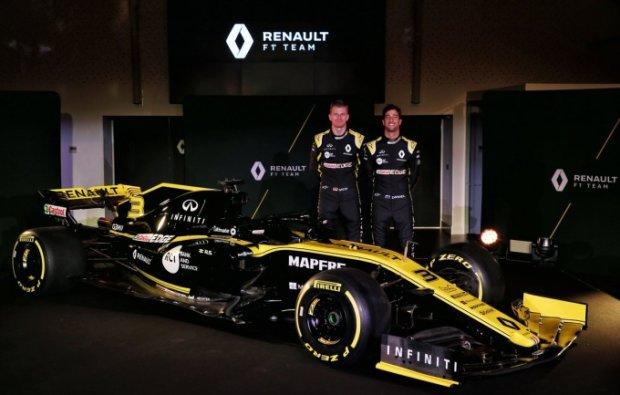 Команда Формулы-1 Renault презентовала новый болид: видео
