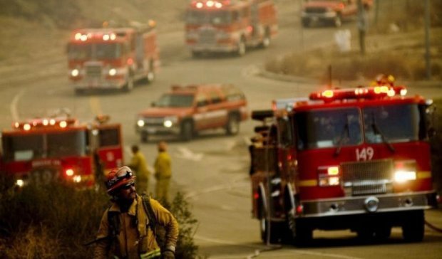 В Калифорнии режим чрезвычайной ситуации из-за пожаров