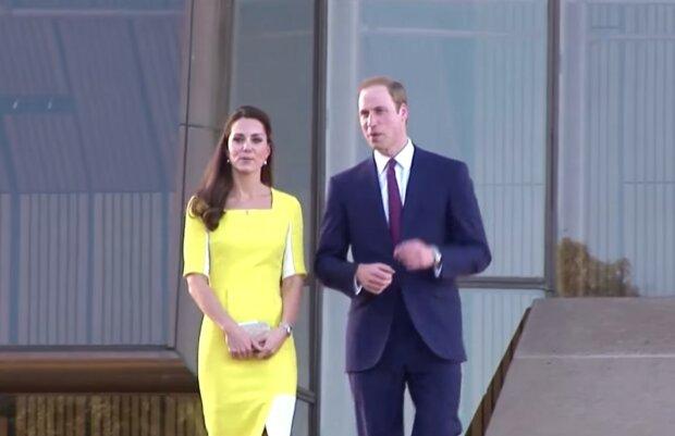 Кейт Миддлтон и принц Уильям, фото: кадр видео YouTube
