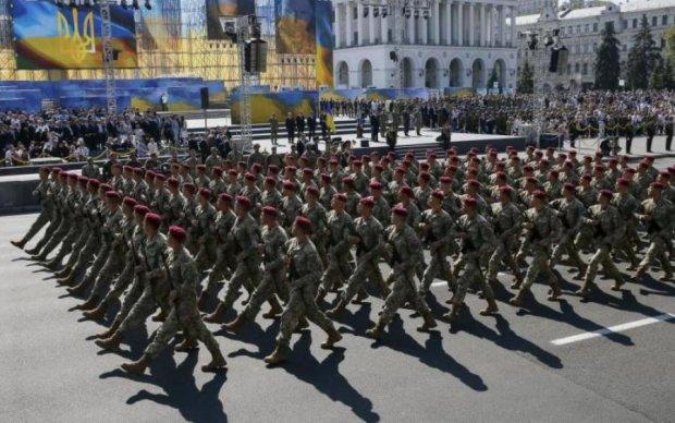 Військові показали репетицію параду: видовище вражає