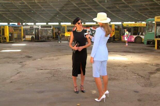Маша Фокіна, скріншот відео