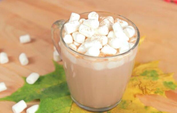Шоколадно-кавовий напій, кадр з відео
