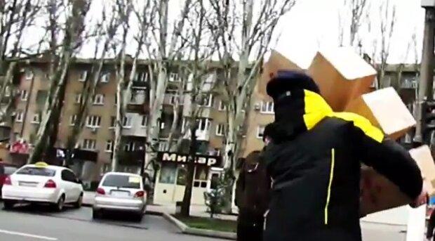 На улицах города разгуливает пранкер: жителям изрядно пощекотали нервы, видео