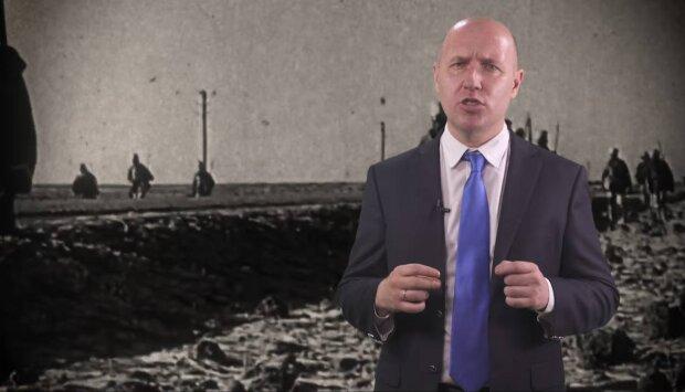 Руслин Бизяев, скриншот видео