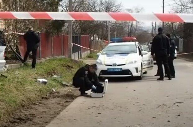 Черновчанка на евробляхе сбила детей на велосипедах, все очень плохо