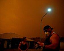 Пожары в Австралии, фото из свободных источников