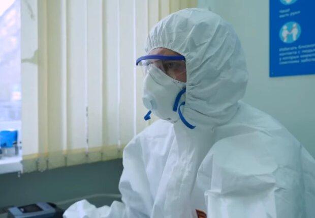 Коронавірус, скріншот відео