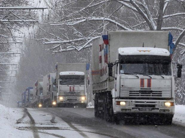Росія вирішила направити на Донбас ще три конвої