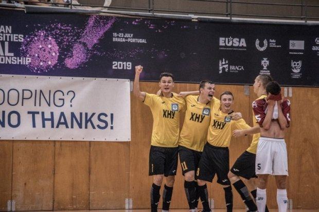 Українські футболісти завоювали медалі чемпіонату Європи серед університетів