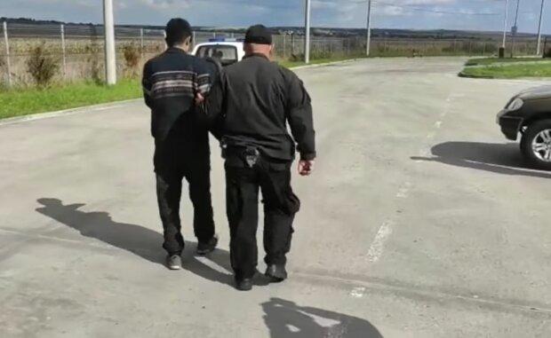 ДПС України затримала афганського біженця, скріншот: Facebook