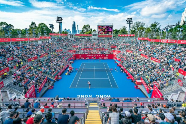 Турнир WTA в Гонконге отменили из-за массовых акций протеста
