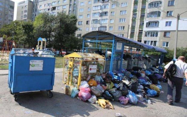 Тотальное свинство: в сеть попали шокирующие фото киевских закоулков