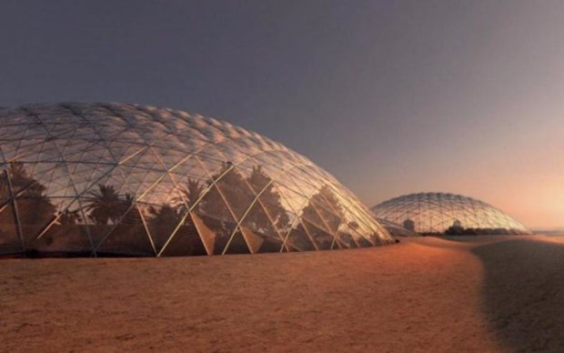 Марсианский город появится на Земле