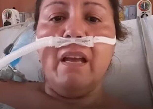 Сара Монтоя, кадр з відео: Facebook TVC Plus