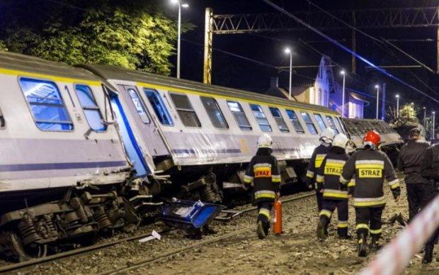 Железнодорожная катастрофа в Польше: десятки пострадавших