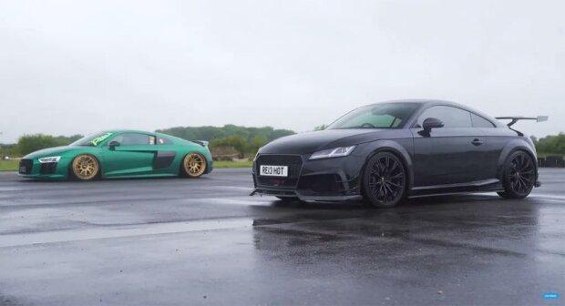 ABT's 610 HP Audi TT RS Challenge An Audi R8 V10